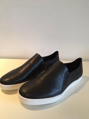Calvin Klein Schuhe 39 *Sneakers*CK Logo*Designer*Original* neu Echtleder schwarz