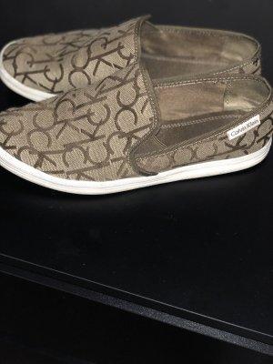 Calvin Klein Schuhe beige braun Gr.37