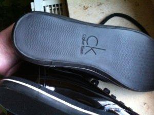 Calvin Klein Schuhe in Lack schwarz