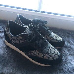 Calvin Klein Schuhe orginal schwarz Silber
