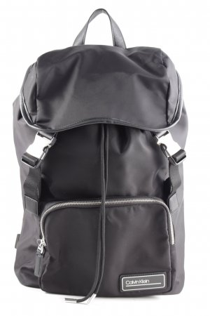 Calvin Klein School Backpack black business style