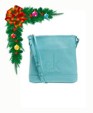 Calvin Klein Schultertasche Türkis Blau