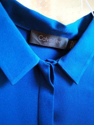 Calvin Klein Silk Blouse blue