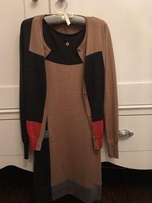 Calvin Klein Vestido de lana multicolor