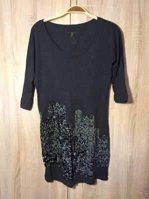 CALVIN KLEIN - Shirt-Kleid grau