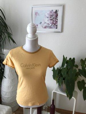 Calvin Klein Shirt mit goldenem Print
