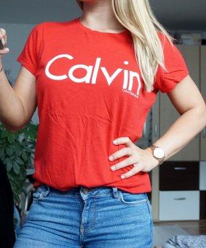 Calvin Klein Shirt rot