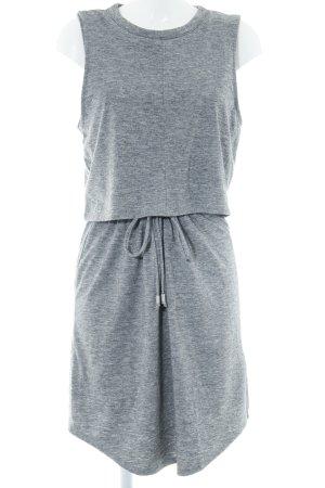 Calvin Klein Shirtkleid grau meliert Casual-Look