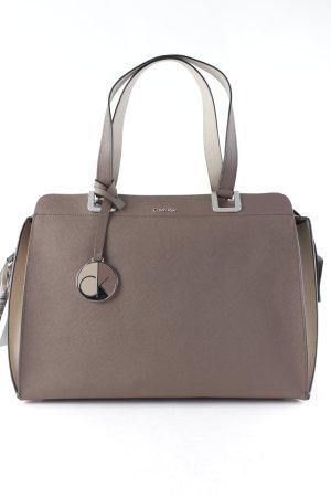 Calvin Klein Shopper brown-beige business style