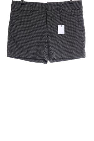 Calvin Klein Shorts hellgrau-weiß Karomuster Casual-Look