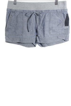 Calvin Klein Shorts grau-blassblau sportlicher Stil