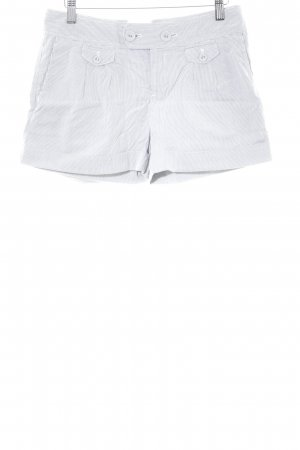 Calvin Klein Shorts grey-natural white striped pattern casual look