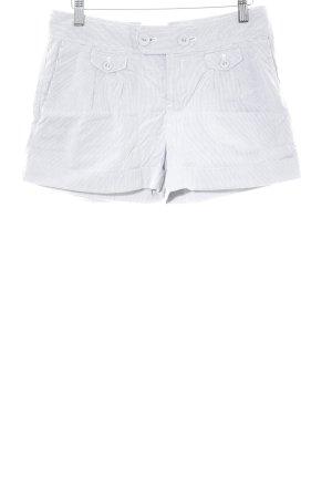 Calvin Klein Short gris-blanc cassé motif rayé style décontracté