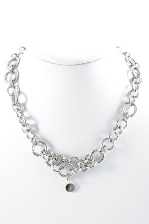 Calvin Klein Zilveren ketting zilver casual uitstraling