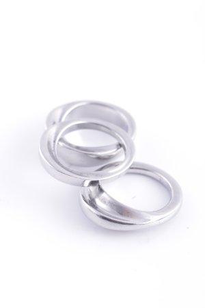 Calvin Klein Silver Ring silver-colored casual look