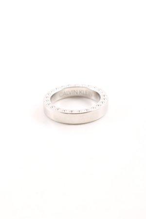 Calvin Klein Silver Ring silver-colored elegant