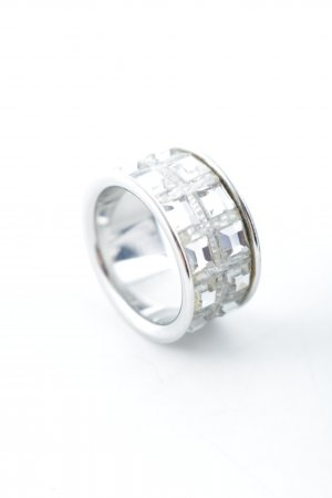 Calvin Klein Silver Ring silver-colored minimalist style