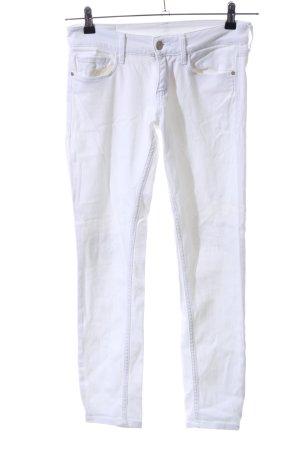 Calvin Klein Jeans skinny bianco stile casual