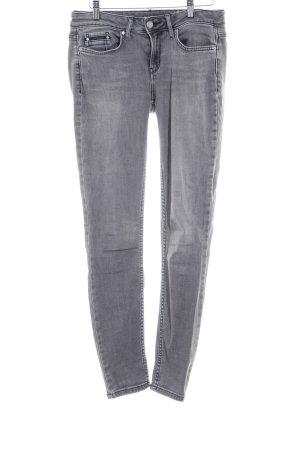 Calvin Klein Skinny Jeans grau Casual-Look