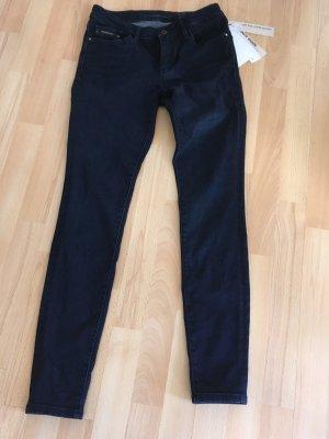 CALVIN KLEIN Slim Fit Skinny Jeans marine dunkel blau NEU Gr. 27 / 32