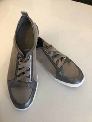 Calvin Klein Sneakers met veters grijs