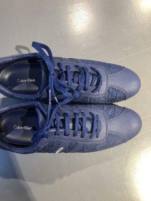 Calvin Klein Lace-Up Sneaker dark blue