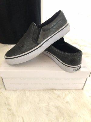 Calvin Klein Jeans Basket slip-on noir