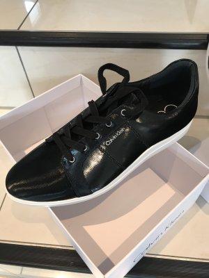 Calvin Klein High Top Sneaker black-white