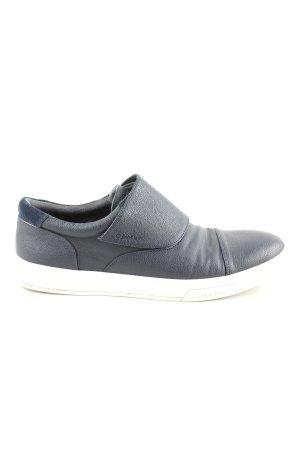 Calvin Klein Velcro Sneakers blue-white casual look