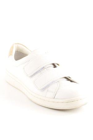 Calvin Klein Basket velcro blanc cassé-beige style décontracté