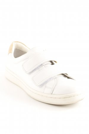 Calvin Klein Sneaker Klettverschluss wollweiß-beige Casual-Look