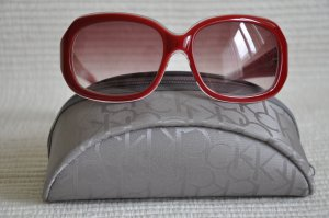Calvin Klein Sunglasses neon red