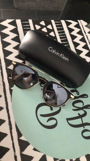 Calvin Klein Bril zwart-goud