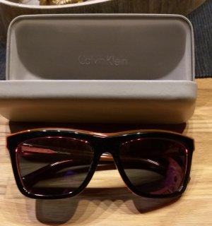 Calvin Klein Gafas de sol negro-naranja