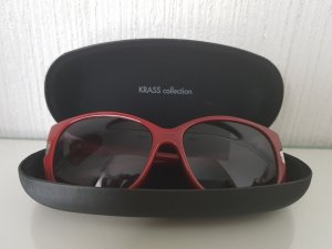 Calvin Klein Sunglasses silver-colored-dark red