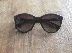 Calvin Klein Vierkante bril zwart-goud