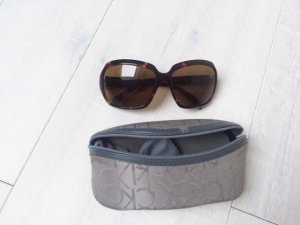 Calvin Klein Glasses dark brown-brown synthetic material