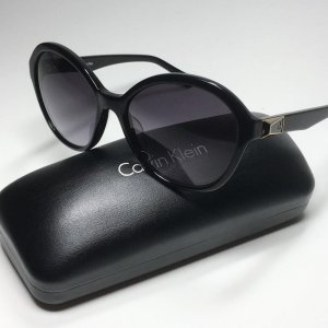 Calvin Klein Jeans Occhiale da sole rotondo nero-oro