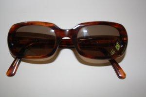 Calvin Klein Ovale zonnebril bruin kunststof