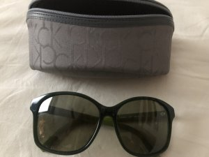 Calvin Klein Retro Glasses forest green synthetic material