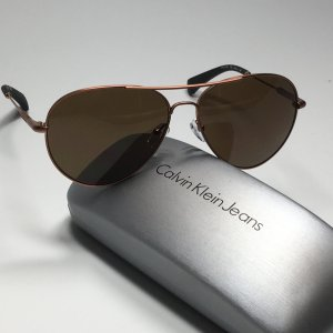 Calvin Klein Jeans Occhiale da pilota bronzo