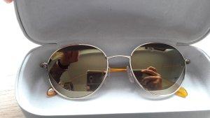 Calvin Klein Sonnenbrille rund verspiegelt gold 52/19/135
