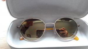 Calvin Klein Sonnenbrille rund verspiegelt gold Gr. 52/19/135 - letzter Preis!