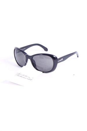 Calvin Klein Sonnenbrille schwarz klassischer Stil