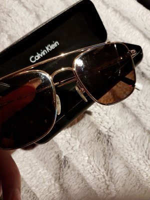 Calvin Klein Glasses bronze-colored
