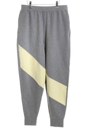 Calvin Klein Sporthose grau-blassgelb sportlicher Stil