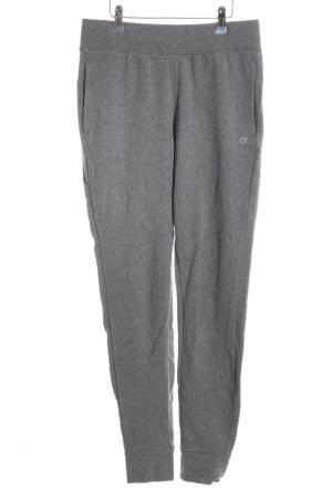 Calvin Klein Sporthose grau-wollweiß platzierter Druck sportlicher Stil