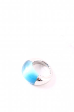 Calvin Klein Statement Ring silver-colored-light blue