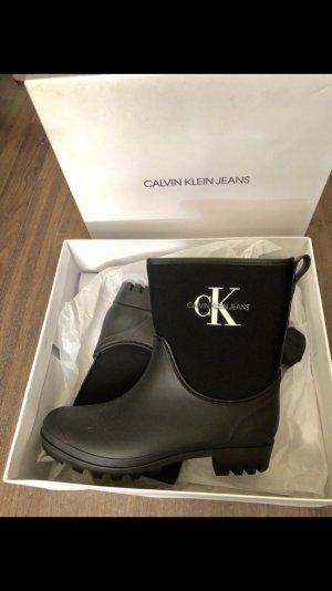 Calvin Klein Jeans Botines Chelsea negro-blanco