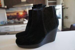 Calvin Klein Stiefel Wedge Größe 38 schwarz